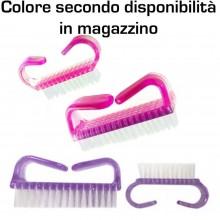 4 Spazzole unghie pulizia spazzolino manicure pedicure spazzola grande piccola