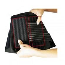 Fascia Lombare tutore elastico con stecche di rinforzo semi rigide. Sostegno a corsetto.