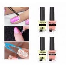 2x 10ml stancil liquido unghie nail art anti sbavature smalto dita cuticole
