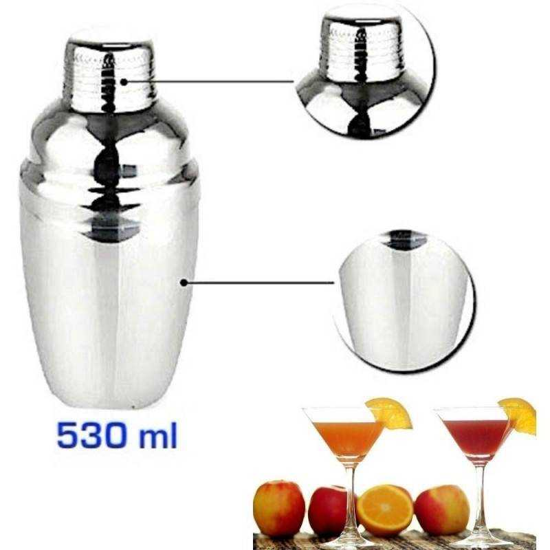 Cocktail Barman Shaker 530ml miscelatore bevande bar casa cucina accessori