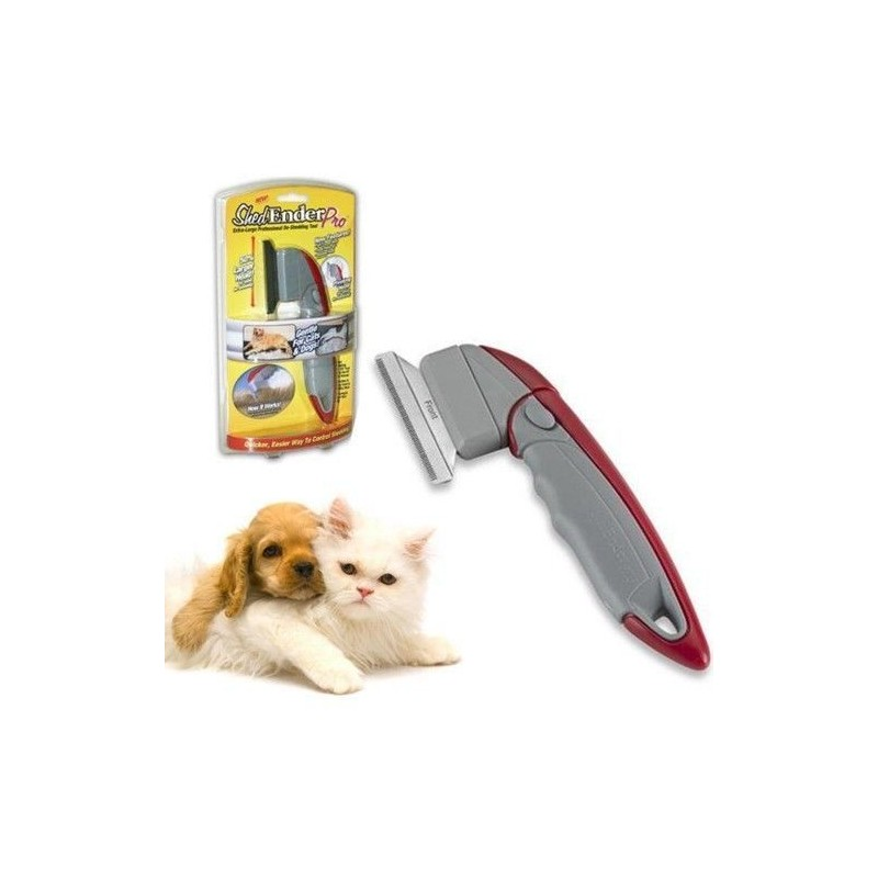 Spazzola snodabile cardatrice rimozione peli cane gatto toelettatura animale