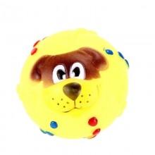 4x Pallina giocattolo gatti cani fischietto aria animali domestici colorata