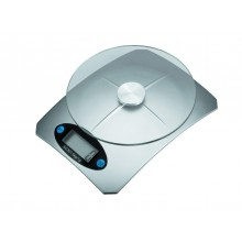 Bilancia di precisione da cucina con ripiano in vetro design moderno dotata di spegnimento automatico e tara regolabile