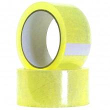 36x Nastro adesivo trasparente 48X88 36 pezzi imballaggio pacchi giallo