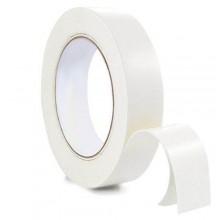 2x Nastro biadesivo trasparente 25X10 2 pezzi imballaggio pacchi bianco