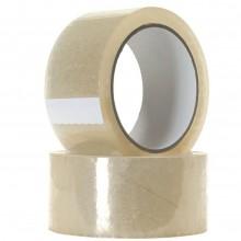 36x Rotolo nastro fragile 50x66 bianco adesivo imballaggi pacchi scatole
