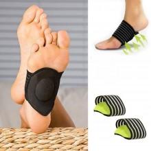 Coppia tutore pianta piede supporto plantari postura correttivi piedi dolore
