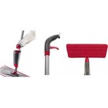 Scopa Spray Mop set lava pavimenti con panno lavabile in microfibra e vaschetta per detergente