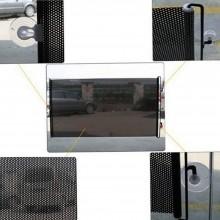 Tendina parasole avvolgibile PVC auto finestrino ventose sole macchina 45 x 125