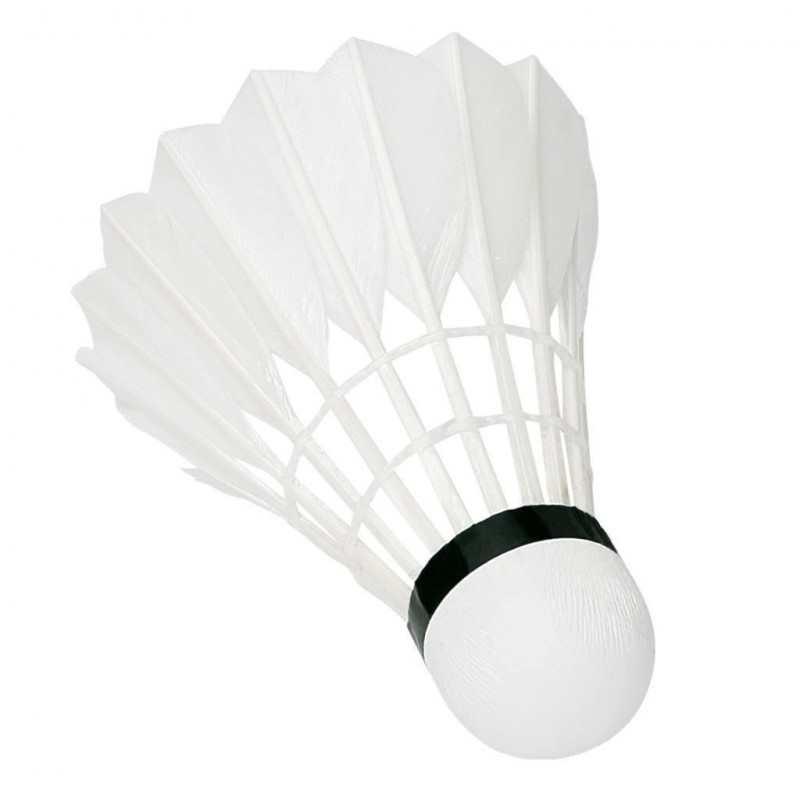 12 palle volano badminton sport racchette estate tubo plastica spiaggia