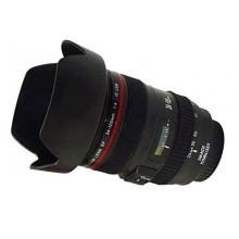 Cup Tazza Teleobiettivo a forma di obiettivo fotografico Reflex Bicchiere CupLens - Colore Nero con particolari Canian