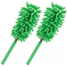 Spolverino microfibra pulizia rimozione polvere vetri mobili pensili casa