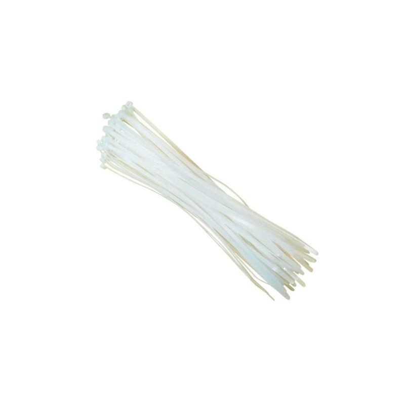 450 fascette plastica cablaggio bianche fissaggio autobloccanti cavi ordinare