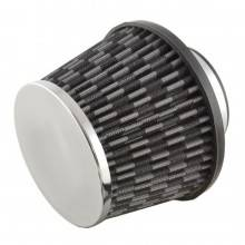 Filtro aria sportivo conico biconico tuning universale per auto 80 mm fascetta