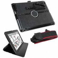 Custodia apple iPad 2 ipad 3 supporto borsa smart cover corda tracolla