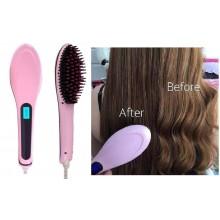 Spazzola termica ionizzante snoda liscia capelli piastra lisciante riscaldata
