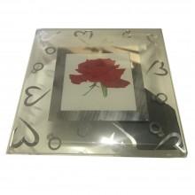 Cornice foto cuori romantica regalo portafoto base arredamento cuore