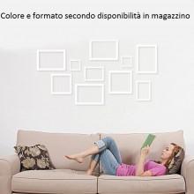 5x cornici minimali muro collage artistico misure formati assortiti nero bianco