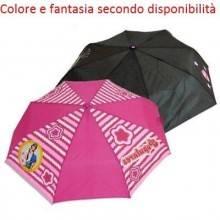 Ombrello piccolo bambina rosa nero mondo di patty pioggia custodia laccio bimba
