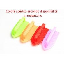 3x spazzola plastica forma ferro da stiro scarpe pavimento mattonelle setole