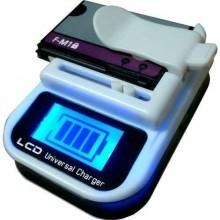 Carica batteria caricabatterie caricatore lcd universale usb per batterie al litio di cellulari smartphone e fotocamere