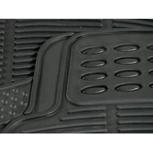 Tappetini auto neri plastica protezione tappezzeria fango terra sostituzione