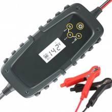 Mantenitore 1A batteria moto scooter auto 6V 12V morsetti inutilizzo prolungato
