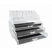 Organizzatore girevole portatrucco cosmetici box trucchi make up 18288