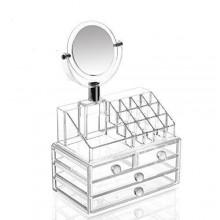 Organizzatore 5 portatrucco trucchi cosmetici box trucco make up donna 18289