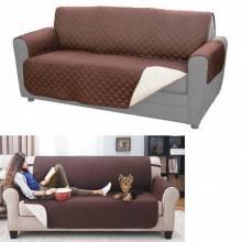 Copri divano reversibile protezione federa sofa peli cane gatto polvere coat