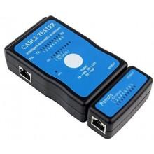 Tester cavi rete connessione Multifunzionale con segnalazione LED RJ45 RJ11 USB Cavo Tester Network Rete