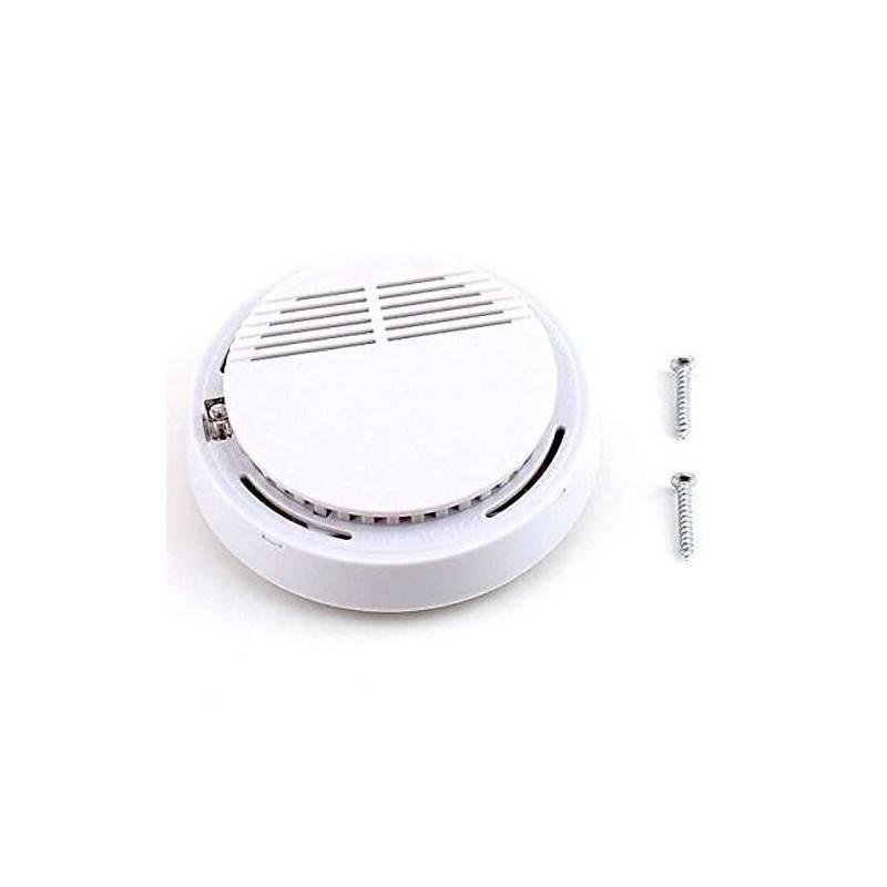 Rilevatore di Fumo Allarme Fumo Antincendio con sensore fotoelettrico a lunga autonomia