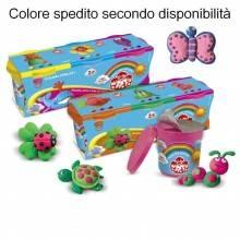 Tris Didò pasta per modellare 660 g 3 barattoli colori vari gioco bambini FILA