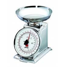 Bilancia da cucina silver Zephir ZHS435 metallo fino a 5 kg cucinare casa