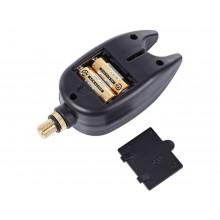 Allarme sonoro per canna da pesca dispositivo acustico avvisatore luce led hobby