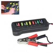 Tester per batteria 12 V e dinamo alternatore con LED di indicazione stato per auto e moto