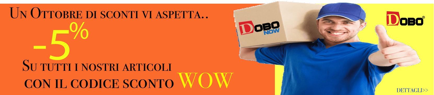Ottobre 2020 con DOBO.it vi aspetta con tanti sconti e promozioni