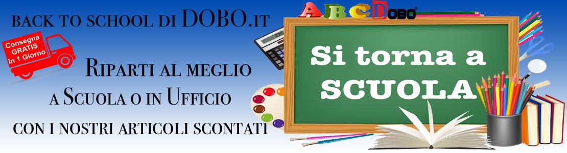 Back to School di DOBO.it , le migliori offerte per ripartire alla grande a scuola o in ufficio